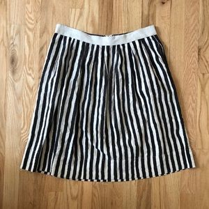 Loft Painters Stripe Skirt